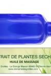 Huile de massage «Défenses»